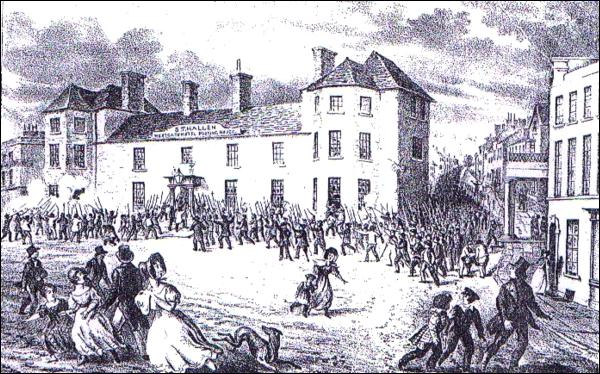 Chartist Rising at Newport, 1839